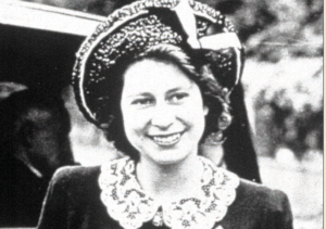 エリザベス女王2世となるエリザベス女王