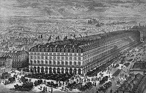 パリのルーヴル百貨店