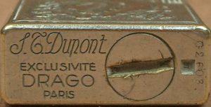 デュポンとドラゴのコラボオイルライター