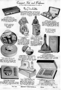 メアリー・ダンヒルの当時香水の広告