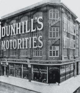 1893年ダンヒル・モーターズ